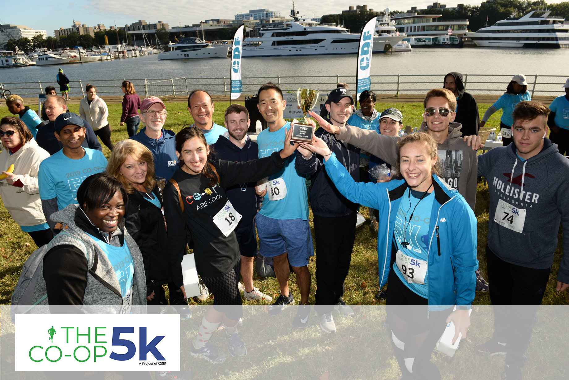 5K Race for Cooperative Development
